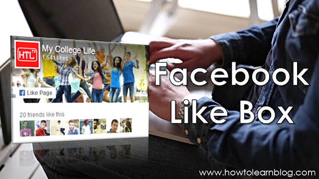 How to add Facebook like box on Blogger or Blogspot website. How to embed Facebook page plugin on Blogger or Blogspot website. Facebook like box(page plugin) code for Blogger/Blogspot