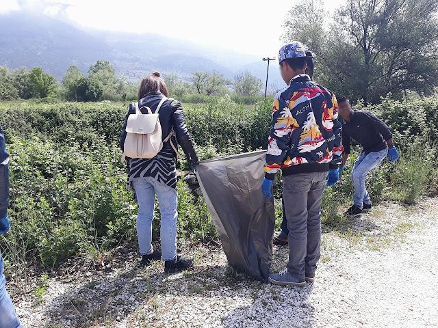 Γιάννενα: Περιβαλλοντική δράση στο Πέραμα