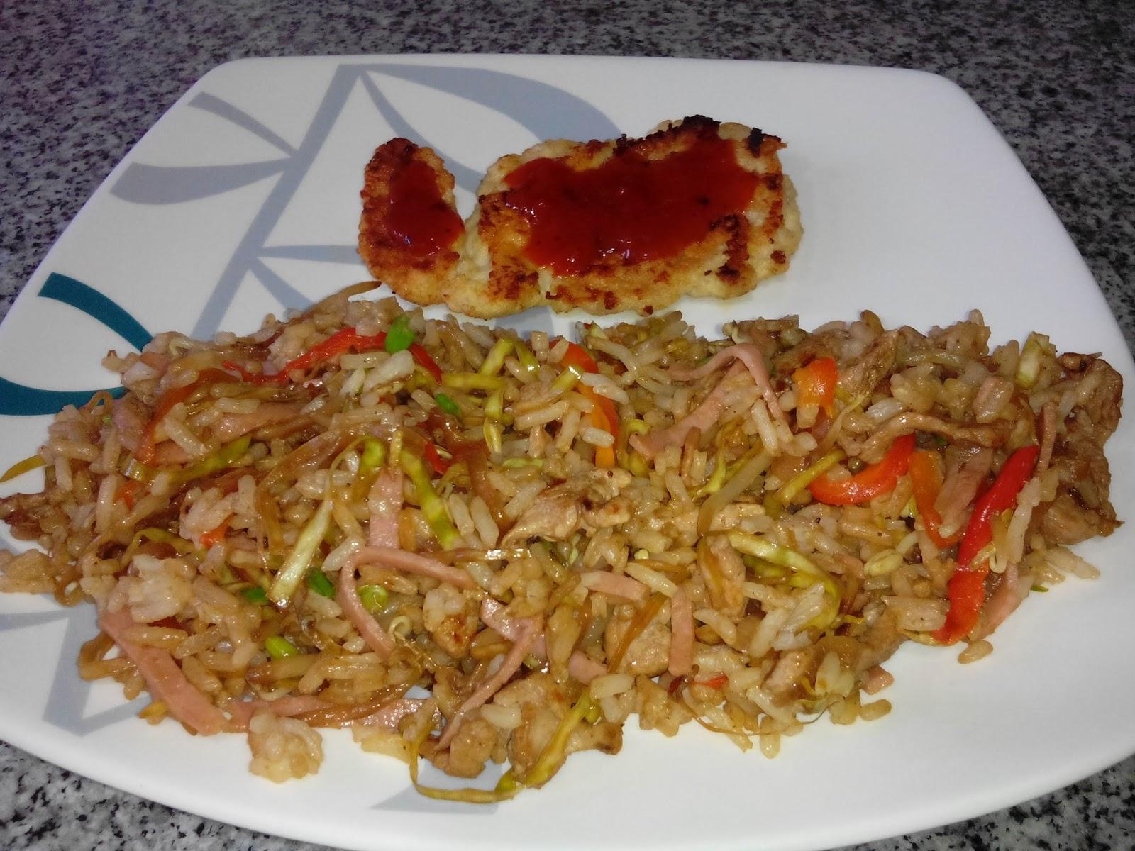 Caseros de la abuela arroz chino casero - Comida vegetariana facil de preparar ...