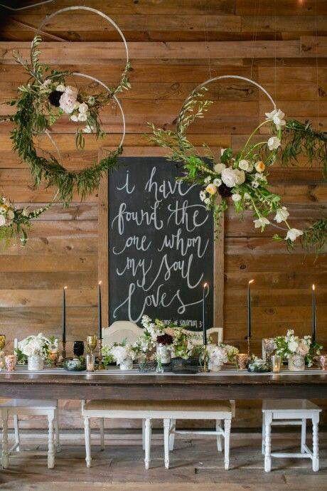 Rustic Barn Head Table Wedding Backdrop Ideas To Love / life decor ...