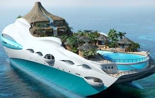 Lorem Ipsum Future Ship Island Concept