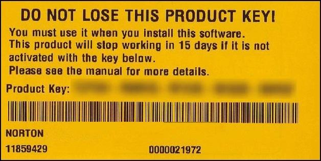 norton where do i enter product key