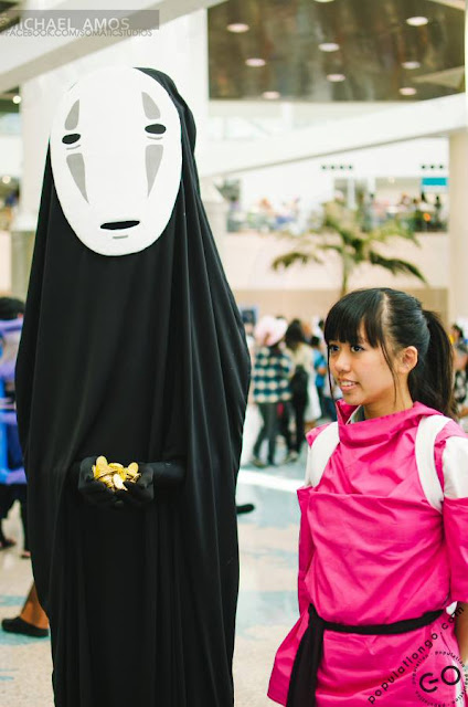 disfraz casero de Kaonashi (No-Face) de Spirited Away