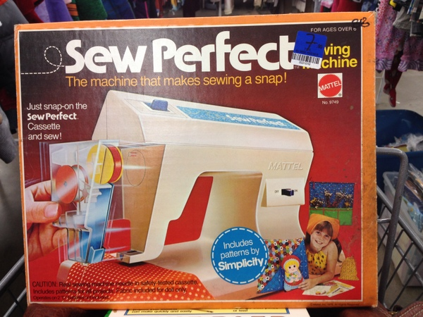 Mattel Sew Perfect Sewing Machine