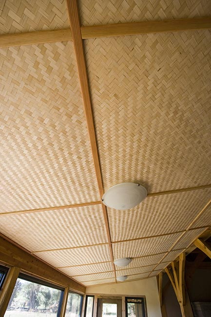 Our House Of Straw Ceiling Choices