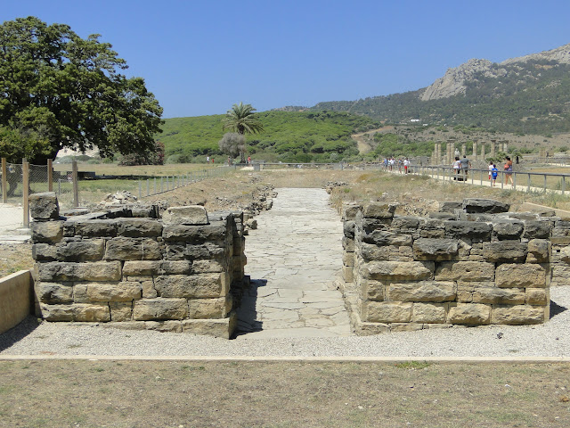 Restos romanos en Baelo Claudia