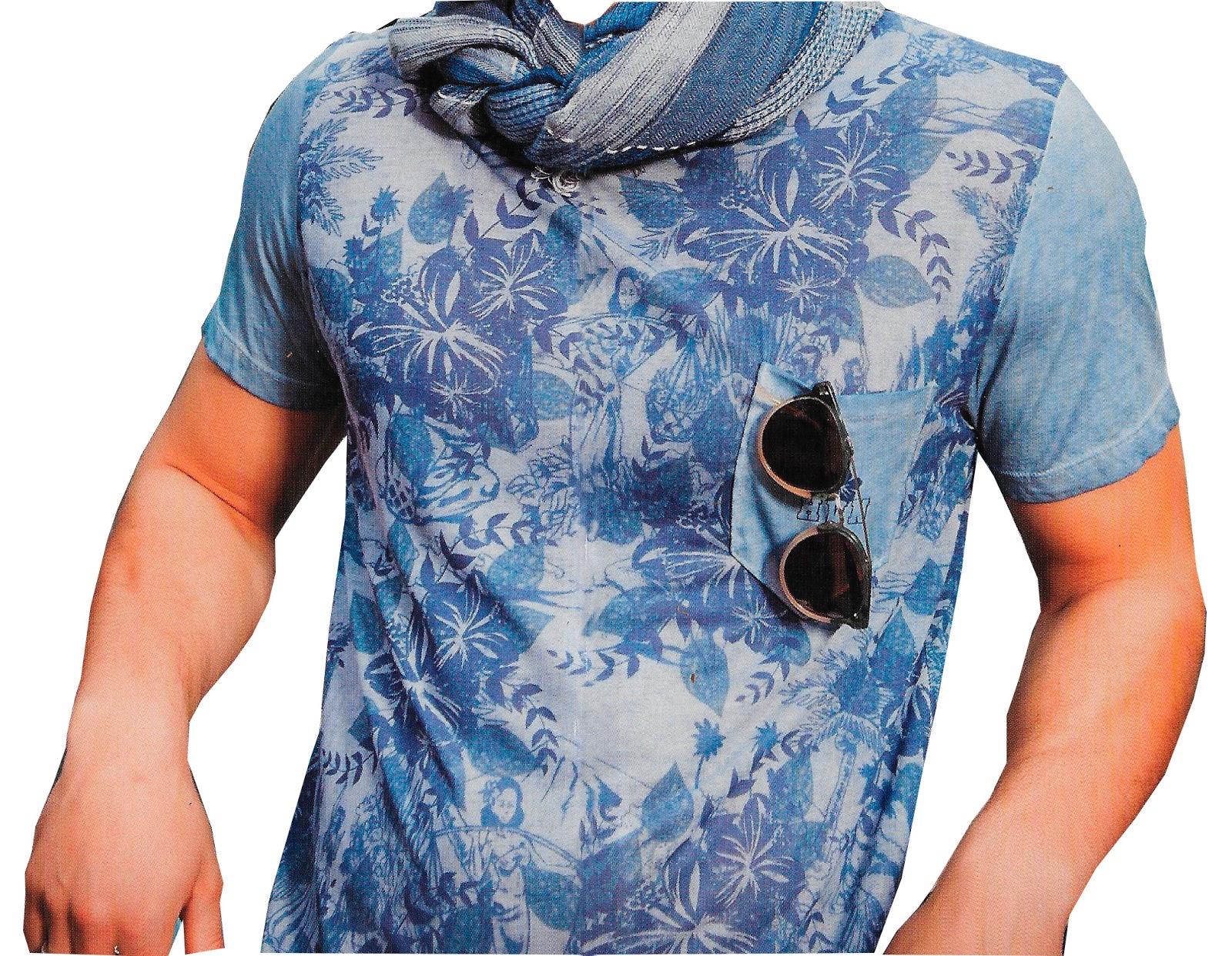 camiseta masculina o de hombre