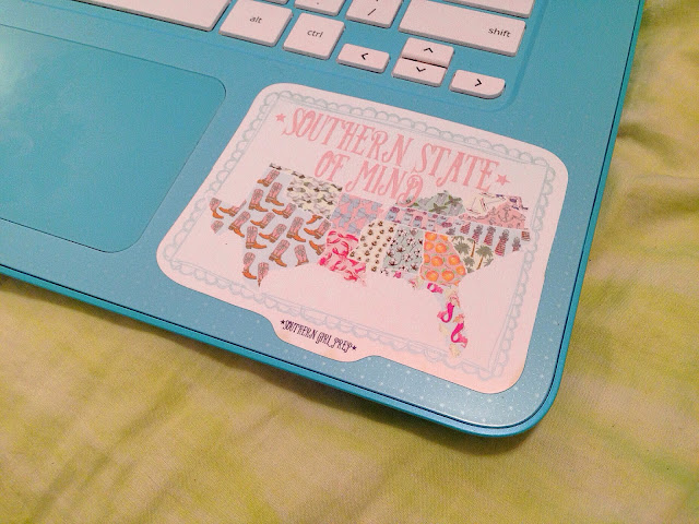 Southern Girl Prep, Laptop Sticker | Live The Prep Life