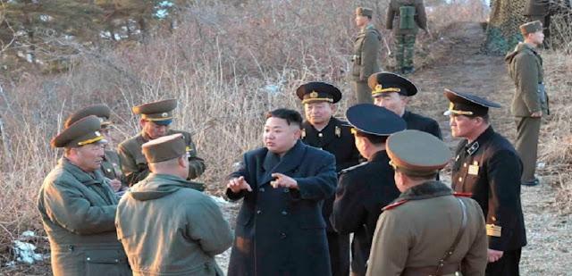 إقتراب قيام الحرب بين كوريا الشمالية وكوريا الجنوبية