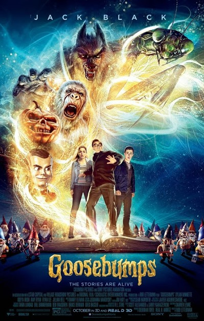 Goosebumps, Movie Poster Poster, Directed by Rob Letterman