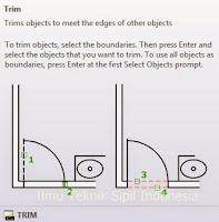 Cara Memotong Garis Autocad