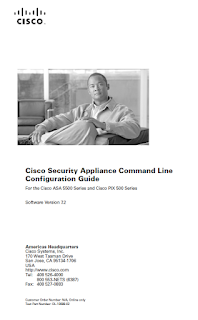 Livre Gratuit [ Cisco Security Appliance Command Line ]