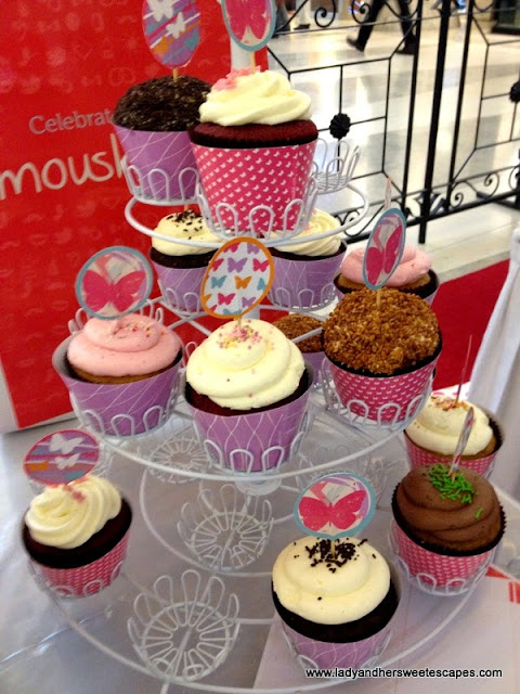 kitsch cupcakes at Burjuman Dubai