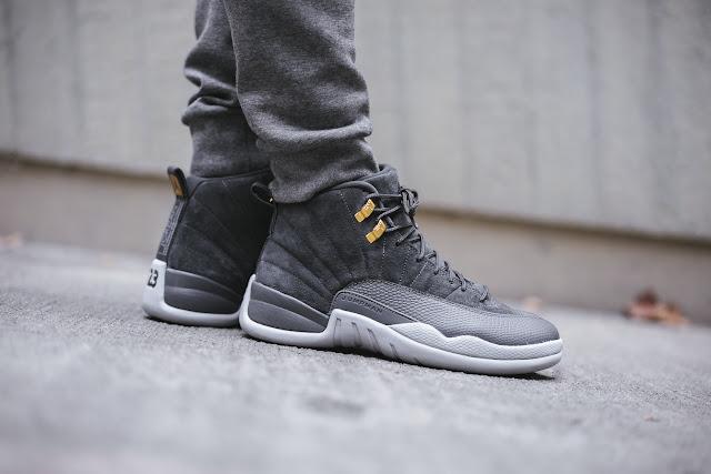 a57c1039146 Swag Craze: First Look: Nike Air Jordan 12 Retro Dark Grey