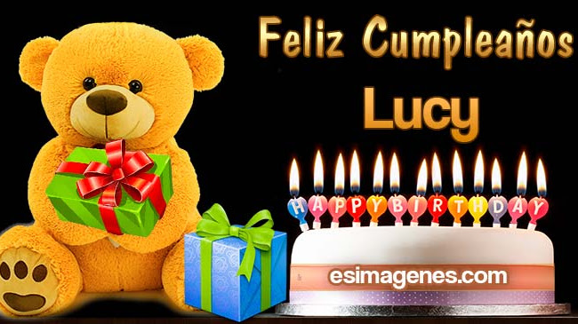 Feliz cumpleaños Lucy