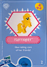 My Little Pony Wave 4 Fluttershy Blind Bag Card