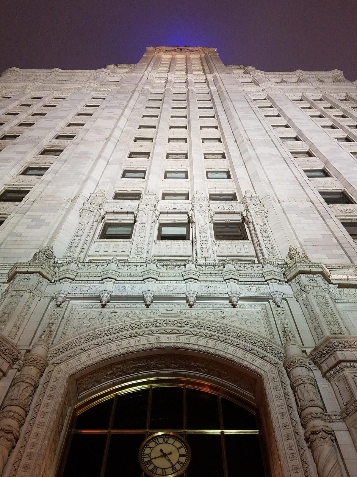 wrigley building chicago view