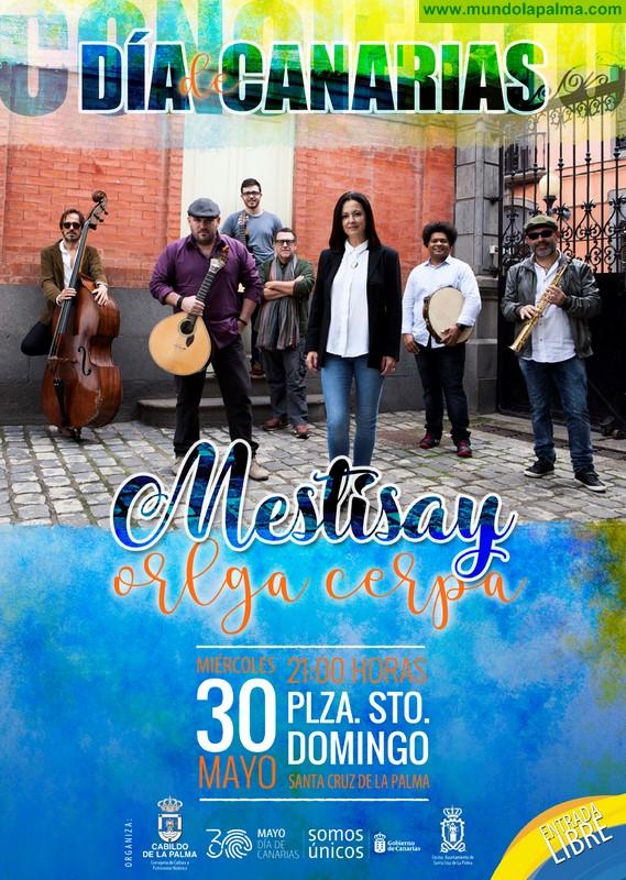 Mestisay y Olga Cerpa conectan las músicas atlánticas en un concierto para celebrar el Día de Canarias en La Palma