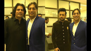 Shoaib Akhtar With Legends On Defence Day