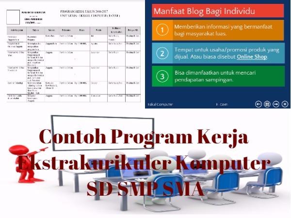 Program Kerja Ekstrakurikuler Komputer