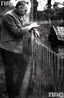 Józef Piłsudski w Sulejówku - 1924