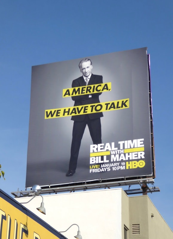 Real Time Bill Maher season 16 billboard