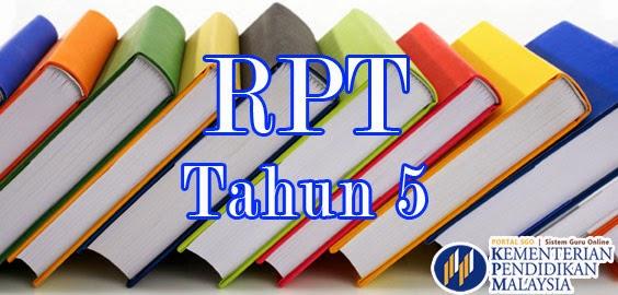 RPT KSSR Pendidikan Kesihatan Tahun 5