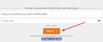 YouTube MP3 İndirme Sitesi