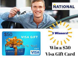 Enter hte National Travel Deals Visa Gift Card Giveaway. Ends 9/7