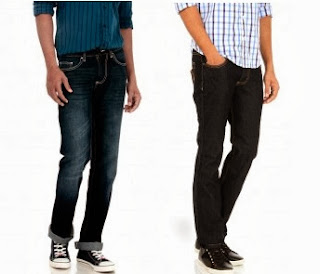 Men's Basiclife Cotton Jeans worth Rs.1499 for Rs.799 Only (Rs.400 additional off)