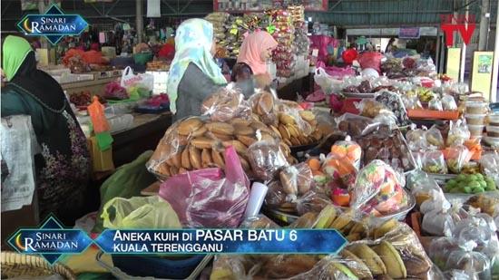 Pasar Batu 6, Syurga Kuih Muih di Kuala Terengganu