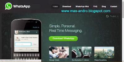 Membuka Whatsapp Lewat Komputer