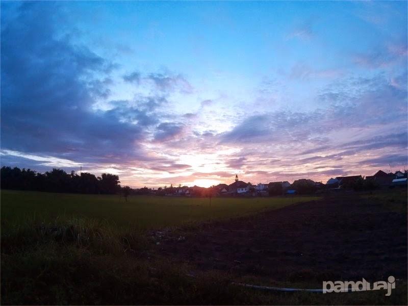Sunset dengan SJCAM4000 Wifi