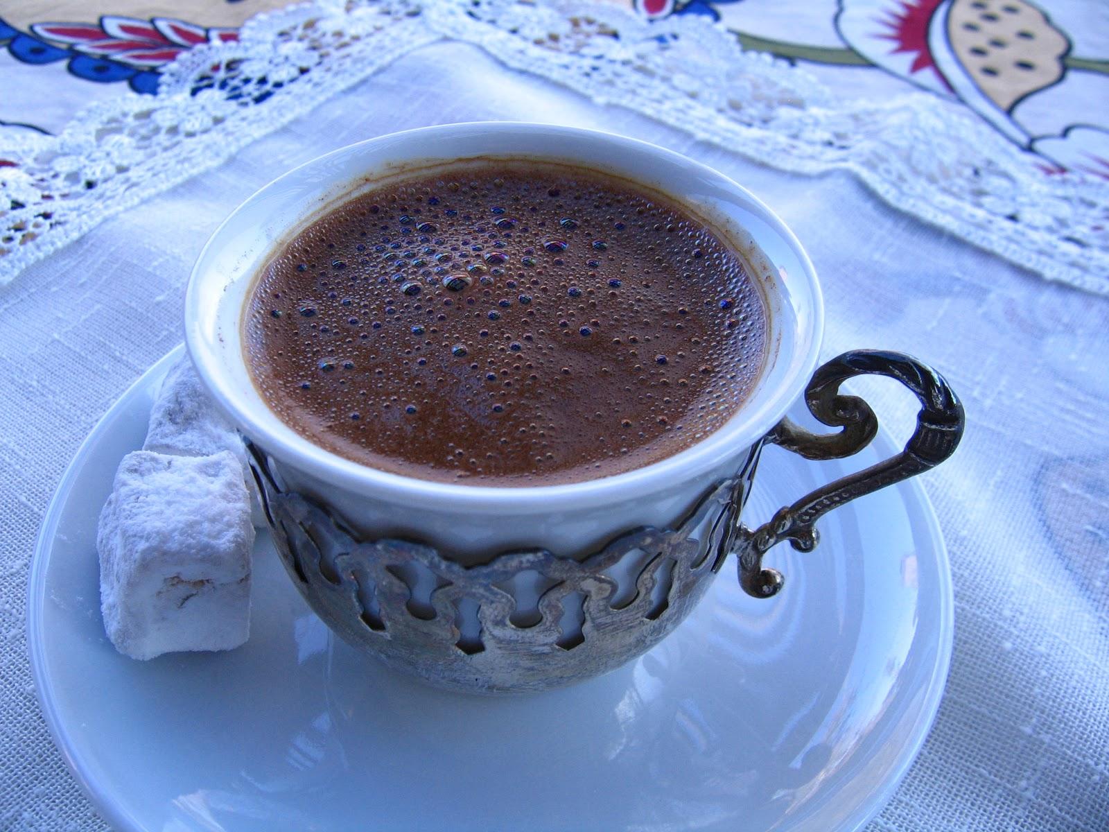 Yasemin's Kitchen: Turkish Coffee