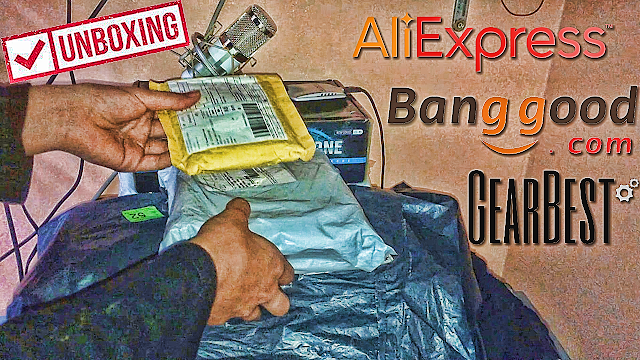 مراجعة السلع التي توصلت بها من الإنترنيت من كل من Aliexpress و Banggood و Gearbest
