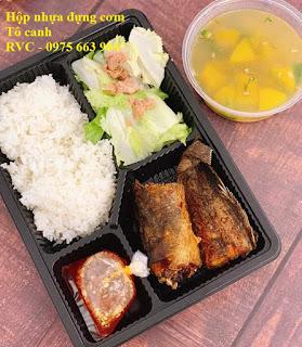 Hộp nhựa đựng cơm dùng một lần tại TP.HCM - 263545