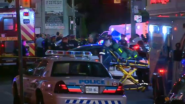 Gunman Dead After Shooting 14, killing one, in Toronto