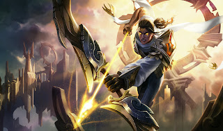 Arclight Varus Skin Wallpaper