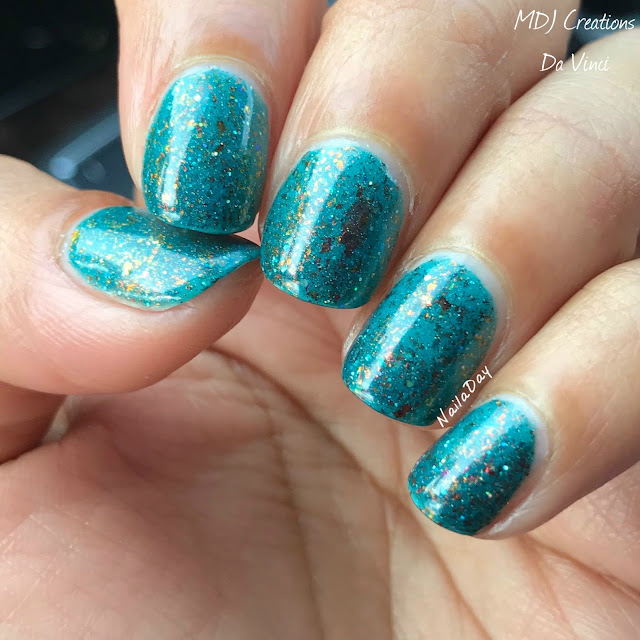 NailaDay: MDJ Creations Da Vinci