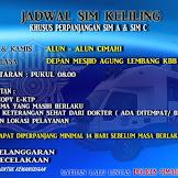 Jadwal SIM dan SAMSAT Keliling Maret 2018 Kab. Bandung Barat  dan Kota Cimahi Jawa Barat