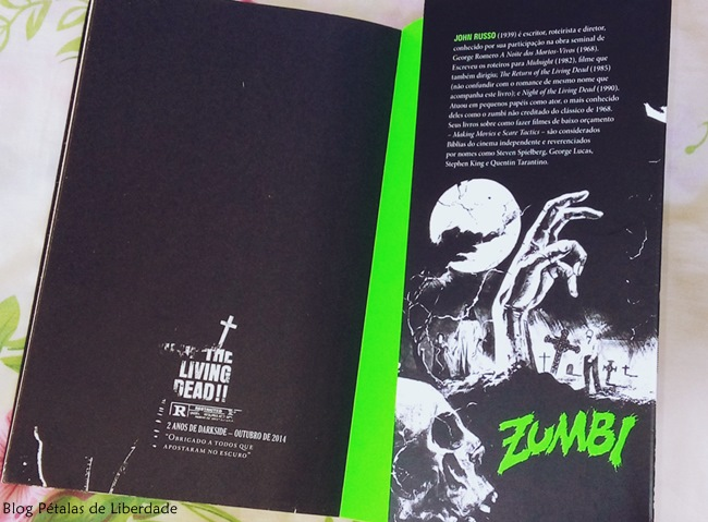 Resenha, livro, A-Noite-dos-Mortos-Vivos-e-A-Volta-dos-Mortos-Vivos, John-Russo, George-Romero, Darkside, zumbis, opiniao, classico, terror, horror, trecho, capa, fotos