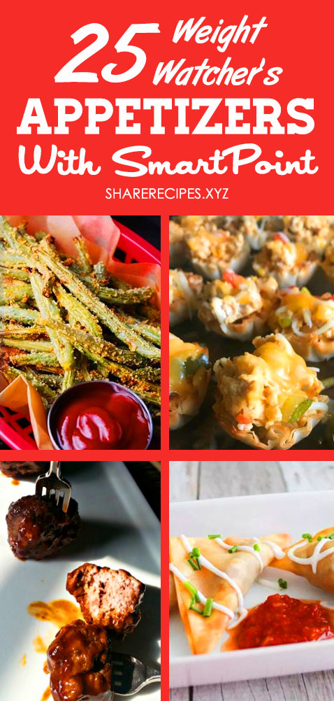 25 Best Weight Watchers Appetizer Recipes With Smart Point. Weight watchers meals, Weight watchers snacks, Weight watchers freestyle recipes, Ww freestyle recipes zero points, Phyllo cup appetizers, Ww appetizers #ww #weightwatchers #appetizers #recipes #wwfreestylerecipes #weightwatcherssnacks