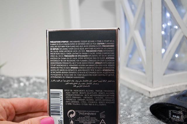 Yves Saint Laurent Black Opium skład perfum