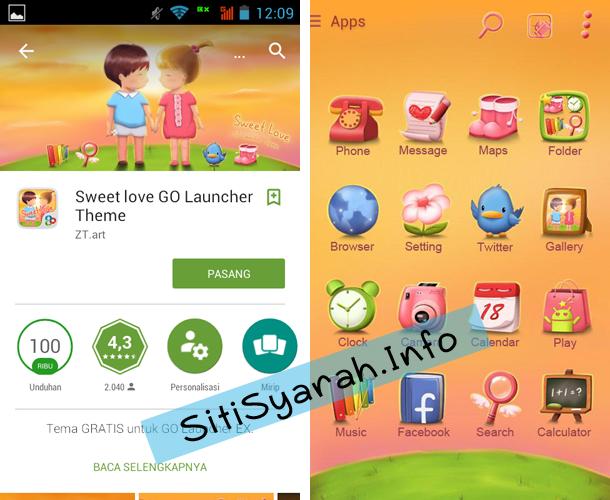 Tema Valentine di Android Terbaru
