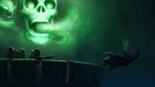 Il Marchio Nero evocato sulla Torre di Astronomia, dopo la morte di Albus Silente