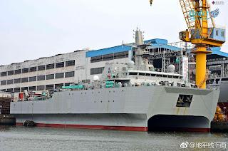 Aparición del buque del tipo 927