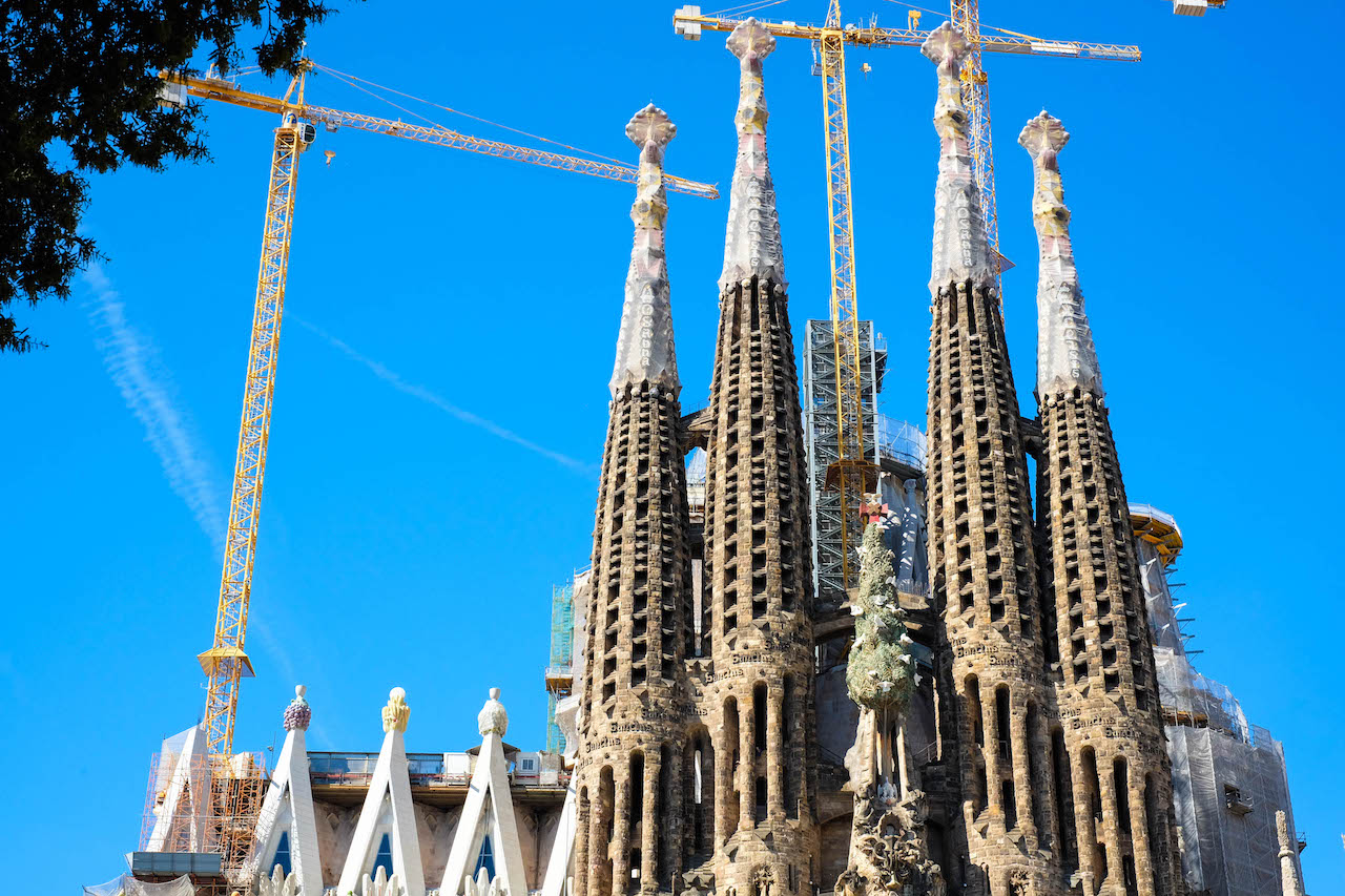 The Long Way to South America Sagrada Familia Chruch Barcelona Spain