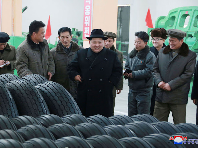Mr Kim continues to flout international sanctions