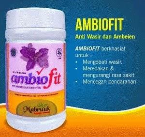 Jual Obat Herbal WASIR dan AMBEIEN Kapsul AMBIOFIT