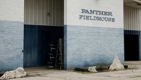 Friday Night Lights Locations Panther Fieldhouse Dillon